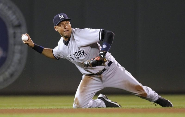 Derek jeter swinging right! Idea